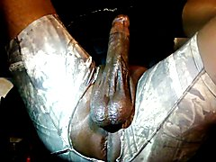 Thick Black Oily Cock hunt