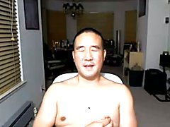 Asian Daddy on webcam again  scene 2