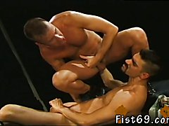Young russian interracial gay Lean and mean Mitchell James comes in the pic after this
