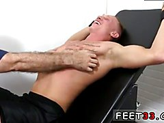 Emo boy feet fetish gay Cristian Tickled In The Tickle Chair