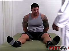 Latest gay male legs and ass porn movies Tattooed, muscle hunk Clint has been depressed