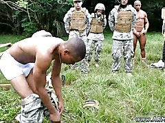 Free nude gay soldiers Jungle drill fest