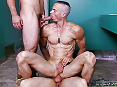 Straight army men first gay experience xxx Good Anal Training