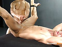 Virgin Jock Ass Fucked Until Uncut Cock Cums - Gay Bondage  scene 2