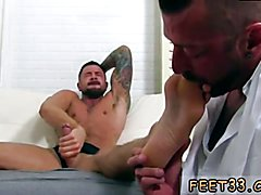 Black men with big feet movie gay Dolf's Foot Doctor Hugh Hunter