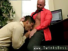 Hot naked men gay sex Pervy manager Mitch Vaughn eventually digs up enough leverage on