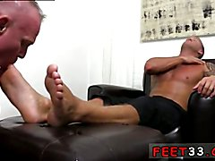 Men hot gay sexy legs and Dev Worships Jason James' Manly Feet