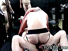 Gay cum fisting xxx Dick rides Thom's cock, while Max fingers and slicks him up for more.