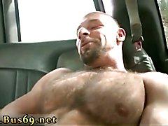 Straight jocks tease older gay men The Big Guy On BaitBus!