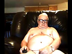 grandpa stoke on webcam