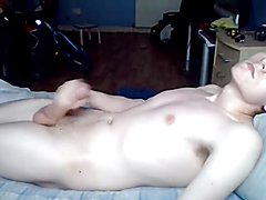 Teen boy wanking time on cam