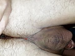 Anal Prostate Milking with cumshot after the milking