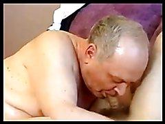 Grandpa seduces young sweet boy