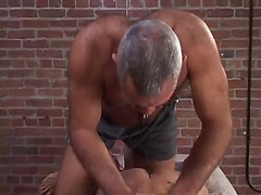 Gay massage and hardcore sex