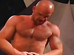 Group sex with muscular guys
