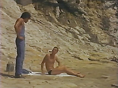Scenes at a California beach