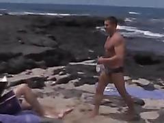 Sex on an empty beach