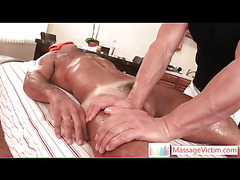 Hot guy gets gay massage
