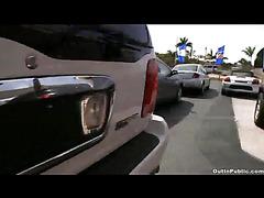 Public sex in parking lot