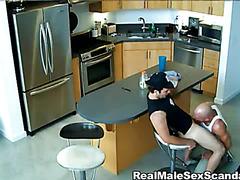 Voyeur video of a blowjob