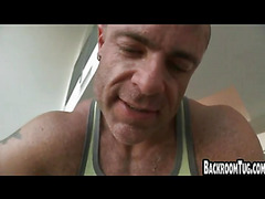 Hot jock gets fucked by mature guy