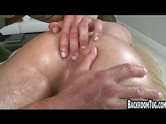 Jock gets fucked by old guy real rough