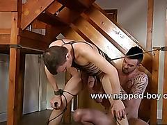 Leo James is buttfucked by Adam Watson