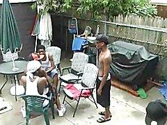 Black gay orgy at house